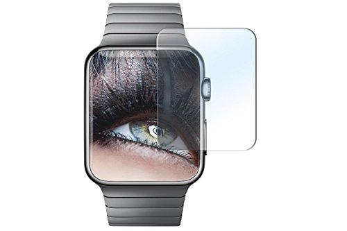 Proteggi schermo in vetro temperato per Apple Watch (42 mm) - Pellicola protettiva Salvaschermo