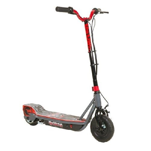 Hot Wheels 24V Su Electric Scooter, Grey/Black/Red
