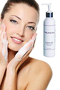 Best Acne Face Wash And Daily Facial Cleanser - Refreshing Exfoliating Citrus Face Wash With Salicylic Acid - Top Face Wash for Women - Deep Cleaning Formula Contains Natural Papaya and Orange Extracts Great For Everyday Use - Great Value! Extra Large Bot