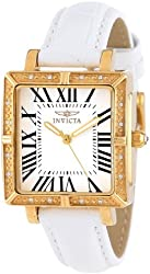 """Invicta Women's 14846 """"Wildflower"""" Watch Set with Five Interchangeable Leather Straps"""