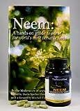 Organic Neem Leaf Capsules High Potency 1200 mg, 120 Count