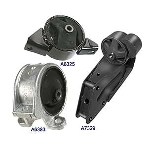 Amazon.com: Engine Motor & Trans. Mount Set 3PCS for 98-99