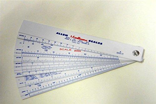 Allen Miscellaneous Scales Miscellaneous
