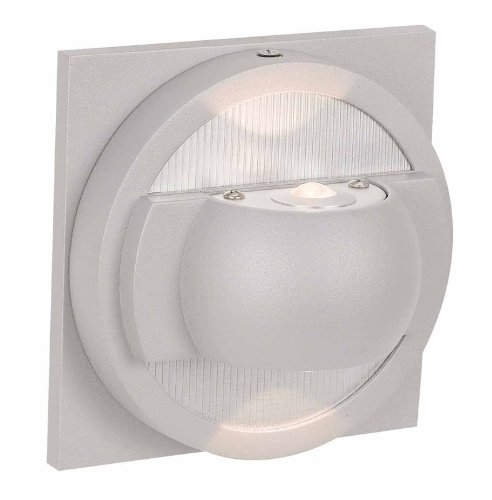 Access Lighting 23060Mgled-Sat Zyzx 2-Light Wet Location Led Up/Down Wallwasher, Satin