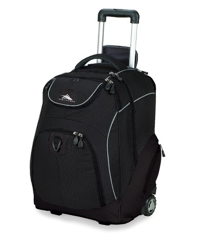 High Sierra Powerglide Wheeled Book Bag (21 x