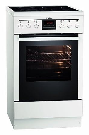 AEG 47055VD-WN Standherd / A -10% /  / Weiß / Timer-Display / Leichte Reinigung