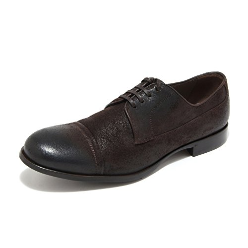 6158L scarpa uomo marrone DOLCE&GABBANA D&G derby scarpe shoes men [7.5]