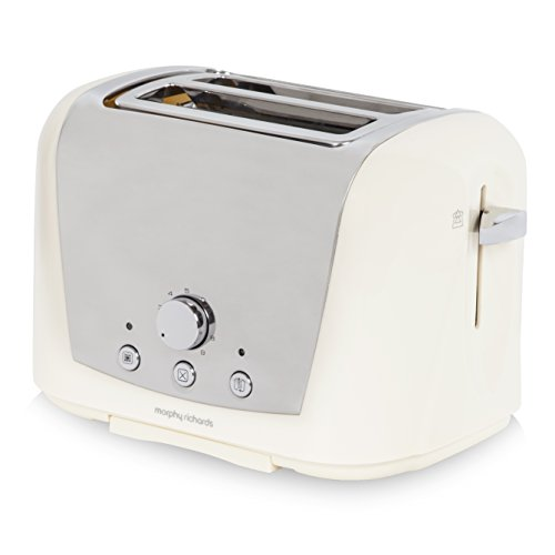 Morphy Richards Accents 222253 2 Slice Toaster - Cream