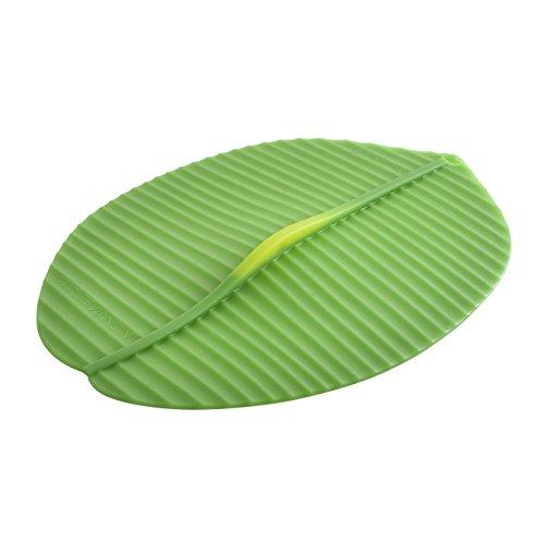 Charles Viancin 1403EU Banana Leaf Couvercle Silicone Vert 35 x 25,5 x 2,5 cm