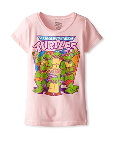 Teenage Mutant Ninja Turtles Little Girls'Pizza Girls Tee