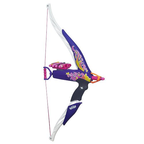 Nerf Rebelle Heartbreaker Bow (Flame Design) (Nerf Bow With Target compare prices)