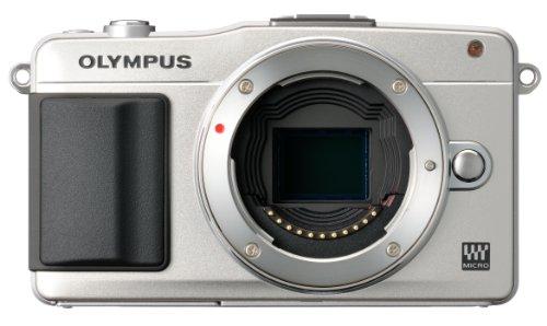 OLYMPUS ミラーレス一眼 PEN mini E-PM2 ボディ シルバー E-PM2 BODY SLV