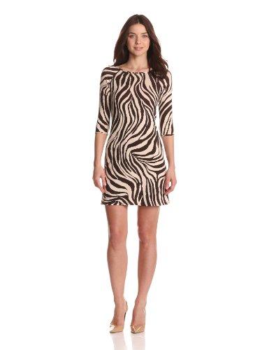 Weston Wear Women's Spring Sheath Jersey Print Dress