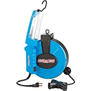 Channellock Retractable Cord Reel With Work Light-30' REEL/WORKLIGHT