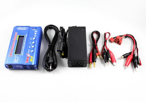 US Ship Imax B6 Clone Lipo Battery Balance Charger, Nimh Nicd Battery Blance Charger LED W/ Power Adapter
