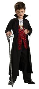 Rubies Costume Co Men's Vampire Theatrical Quality Grand Heritage Costume Black/Purple One Size