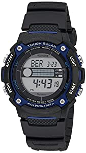 Casio Men's Tough Solar Powered Tide Moon Sport Watch Grey WS210H-1AVCF