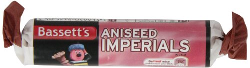 Bassetts Aniseed Imperials Roll 43g (Aniseed Imperials compare prices)