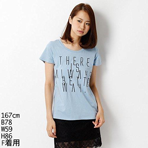 ムルーア(MURUA) Tシャツ(BIGスリムロゴT-SH)【M50ブルー/F】