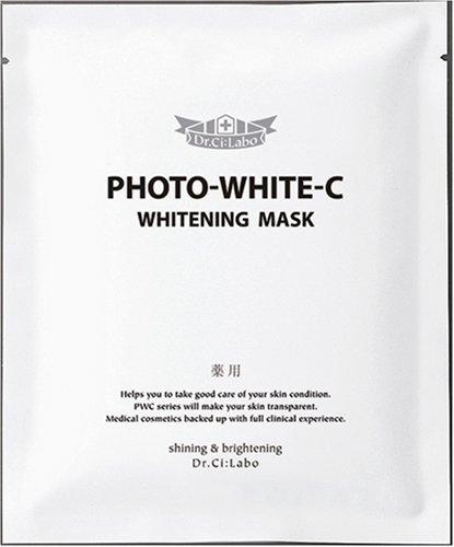 ドクターシーラボ フォトホワイトC薬用ホワイトニングマスク 5枚