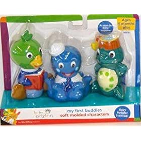 Baby Einstein My First Buddies Turtle, Duck & Octopus