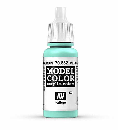 Vallejo Verdigris Glaze Paint, 17ml