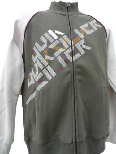 QUIKSILVER Mens Zip Up Arctic Poppy Jacket - Size Small
