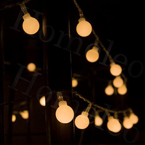 Mini Globe Led String Lights : Homeleo Battery Operated Globe String Lights, 8 Lighting Modes Dimmable Remot... eBay