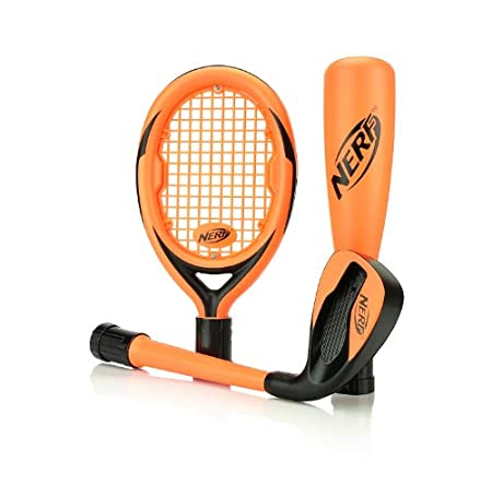 Wii Nerf Sports Pack - New Orange