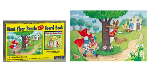 Cheap BABALU GIANT FLOOR PUZZLE AND BOARD BOOK RED RIDING HOOD (1560215267)