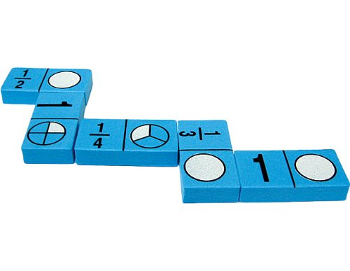 Foam: Fraction Dominoes