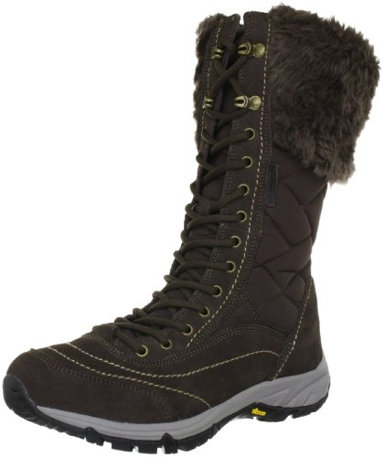 HI-TEC Harmony Quilt Mid 200 WP Ladies Winter Boot, Brown, US11