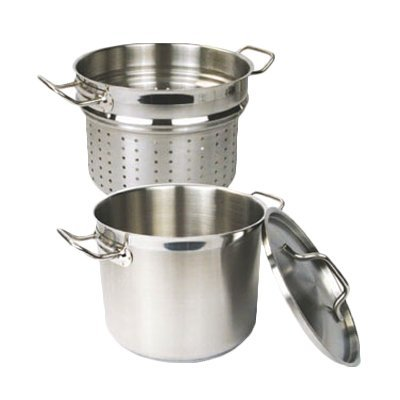 Thunder Group SLSPC020C Lid for 20-Quart Stainless Steel Pasta Cooker