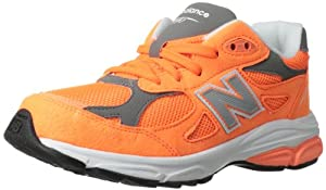 New Balance KJ990 Grade Running Shoe (Big Kid),Orange,6.5 M US Big Kid