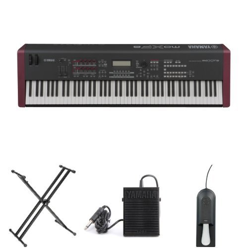 Purchase Yamaha MOXF8 Synth BUNDLE w/ Stand & Pedals