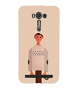 EPICCASE Innocent Man Mobile Back Case Cover For Asus Zenfone 2 Laser ZE500KL (Designer Case)