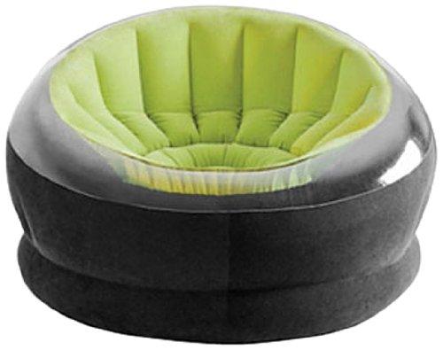 """Intex 68582NP poltrona allungabile """"Empire Chair"""", ftalati liberi, 112 x 109 x 69 cm, ordinamento: 1x verde / rosa / arancio"""