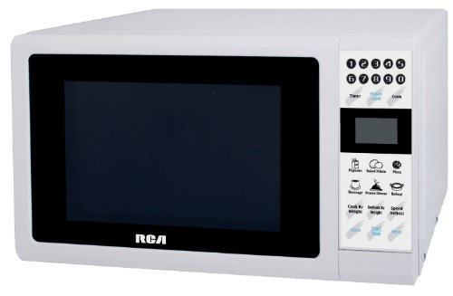 RCA RMW742 0.7 Cubic Feet Microwave Oven, White