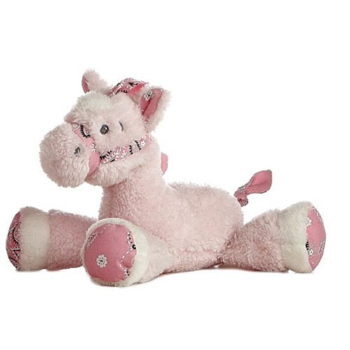 Lil Howdy Rattle-Pink Do-Di-Doe - 1