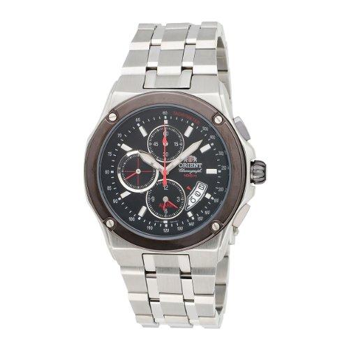 Orient Herren CTD0S003B 100m Alarm-Chronograph in 1 / 5 Zweite, Kleine Sekunde, Datum Black Watch