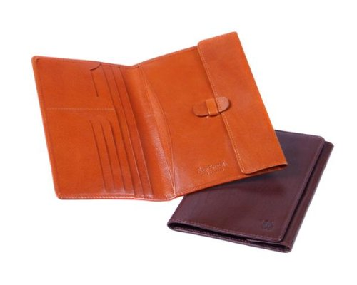 Sage Brown Genuine Leather Farmer's Wallet