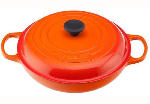 Le Creuset Signature Enameled Cast-Iron 5-Quart Round Braiser,