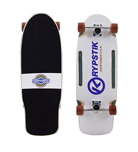 Kryptonics Krypstik 29.75 Retro Complete Skateboard by Kryptonics