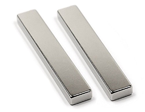 TAQTON Neodymium Bar Magnets, N52, 2½ x ½ x ¼