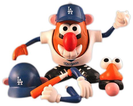 MLB Los Angeles Dodgers Mr. Potato Head