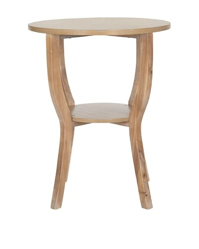 Safavieh Rhodes Accent Table, Honey Natural