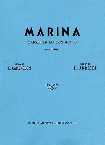 Marina (Vocal Score) - Emilio Arrieta - Libro