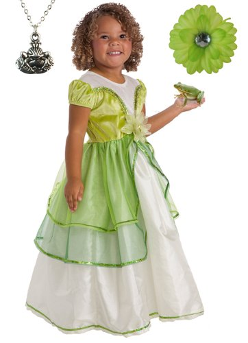 Lily Pad Princess Costume and Accessories
