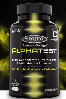 AlphaTest-Testosterone Booster For Men, 100ct