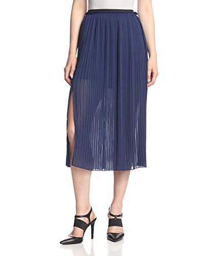 Rebecca Minkoff Women's Steele Pleated Long Skirt
